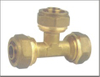Brass Plumbing Fitting Tee Connector Cheap Price China Factory