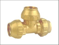 NPT Thread Brass Pipe Fitting